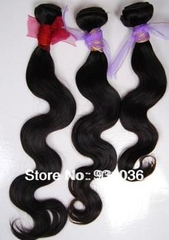 AliExpress Ali Queens Hair Products Brazilian Virgin Wavy Human Hair Extension Weaves 300G 3 Bundles Lot