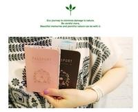 2012 - 2013 New Leather soft Travel Passport Credit ID Card Cash Holder Cover Set Organizer Wallet Purse Case Bag Lovers design