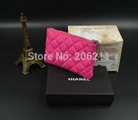 New Design Card Bag Mini Mobile phone bag  C Zippered Key case Mini Wallet Clutch