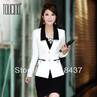 HIGH QUALITY Women's Fashion OL autumn female blazer, all match slim suit outerwear,WF1697