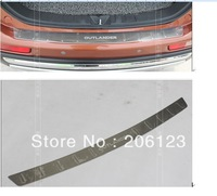 2013 2014  Mitsubishi Outlander High quality stainless steel Rear Trunk Lid Cover Trim