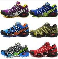 Hot Selling New 2014 Salomon Shoes Quilaty Men Athletic Shoes Running Shoes Sneakers For Women Man Lowest Price Free Shipping