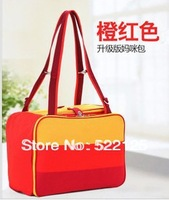 Nice Three colors stripes mummy bag for fashion mummy