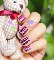 2set 24pcs/set electroplating metal false nails optional acrylic nail art fake nail tips nail stickers with glue 31colors chosen