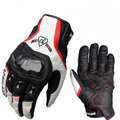 For ACOOLBAR full leather motorcycle racing gloves genuine carbon fiber high drop resistance protective non-slip gloves