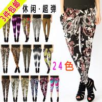 2014 NEW Multicolour print plus size plus size female summer bloomers fashion harem pants skinny pants free shipping
