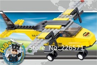 Building Blocks,T-trainer, Airplane Educational Toys for children,Aviation B0360,Self-locking Bricks, Compatible with LEGO