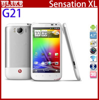 "G21 Original Unlocked Sensation XL X350e Mobile Phone Andriod 3G WIFI GPS 8MP Camera 4.7""Touchscreen Fast Free Shipping"