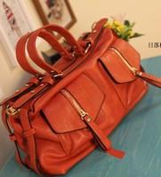2014 Hot sales fashion European and American handbag Women's high quality big Shoulder Bag Messenger bag locomotives bag B061