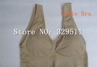 180pcs/lot (60set) Free Shipping Genie Bra with Removable Pads Shaper Vest BODY SHAPER Push Up BREAST RHONDA SHEAR  (Retail Box)