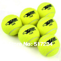NEW 2014 High Quality Professional Genuine Tennis Tennis Balls Tennis Training Ball Free Shiping