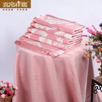 Auspicious 100 mulberry silk blanket baby blankets thickening double faced spring and autumn blanket premium silk casual beauty
