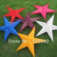12ps/lot+Free shipping 24inch,60cm star lanterns ,paper lanterns,paper lamp ,paper for wedding/xmas/decoration/party/birthday