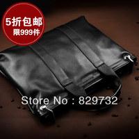 Free shipping Business casual man bag cowhide handbag fashion messenger bag shoulder bag male briefcase bag