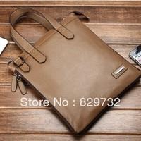 Free shipping Leather shoulder bag handbag man commercial genuine leather messenger bag casual small bag