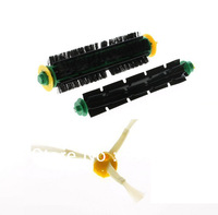 Replacement 3 Arms Side Brush for iRobot Roomba 500 550 560 600 700 760 770 780 Cleaner Bristle Brush and Flexible Beater Brush