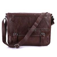 2014 New Arrival Fashion Brand Genuine Leather Vintage Men Casual Shoulder Bag Leather Messenger Bag Man Bag