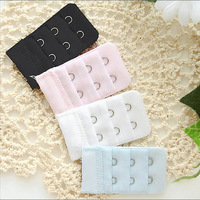 New Arrive: 3Pcs Bra Extenders Strap Extension 2 Hooks 3 Colors New wholesale