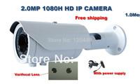 2.0 Megapixel 2.8-12 mm Varifocal Lens 1080P HD CCTV IP Network IR Nightvision Outdoor Waterproof IPCamera view for iPhone/iPad