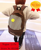 freee shipping 2013 autumn fashion unisex school bag Travel bag, canvas bag, backpack