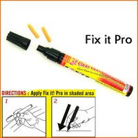 2 PCS Fix it PRO Painting Pen Car Scratch Repair for Simoniz Clear Pens As seen on TV Retail Packing