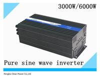 Hot selling! 3000w/6000w DC24V AC240V Pure sine wave power inverter/Solar inverter/inversor(CP-P-3000W)