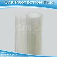 """50x152CM 20""""x60"""" Transparent Auto Paint Protection Vinyl Film Foil"""