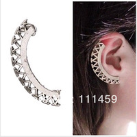 2013 new Punk Jewelry Fashion stud Ear Cuff vintage Clip Earrings 0406068 free shipping