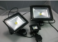 Free shipping Outdoor lamp PIR Motion Sensor 10w Light lighting AC85V-265V landscape LED Flood Light  Waterproof high power