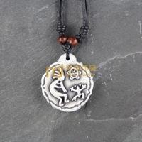 12pcs Wholesale Tibetan Jewelry Yak Necklace Fashion Artificial Bone Pendant Totem N0470