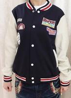 free shipping autumn lovers long-sleeve outerwear men's clothing sweatshirt baseball uniform fleece tracksuits sportswear