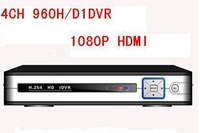 free shipping Security 4CH H.264 FUll D1 960H Real-time Recording 1080P HDMI Standalone Network CCTV DVR