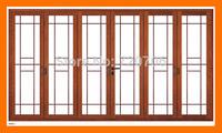 Custom modern sliding aluminum window casement window for villa