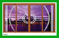 Luxury aluminum door sliding window and door for villa project