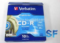 Verbatim cd lightscribe cd 52 blank cd-r cd rom boxed