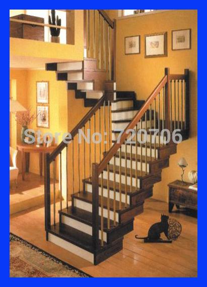 Personalizado decorativo escada de aço inoxidável e vidro escada em espiral corrimão(China (Mainland))