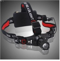 2-in-1 CREE Q5 3-Mode 350-Lumens 5W LED Headlamp LED Flashlight Torch with Adjustable Headband