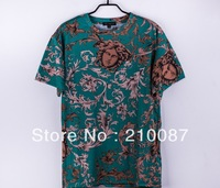 GD Bigbang Wearing  2013 Medusa New fashionable Graffiti pattern lovers  Tshirts