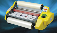 """A2 Hot Roll Laminator Four Rollers Laminating Machine 17.5"""" Wide"""