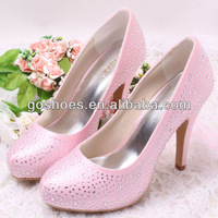 New Arrival Custom Crystal Rhinestone Bridal Wedding Dress Shoes Free Shipping Dropship