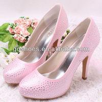 New Arrival Custom Crystal Rhinestone Bridal Wedding Dress Shoes Free Shipping Dropship