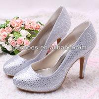 New Arrival Custom Rhinestone Diamond Wedding Platform Heels Shoes 10cm Heels Free Shipping Dropship