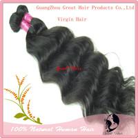 cheap virgin hair   100% cabelo virgem brasileiro Natural Color  14-30inch Regular  wave  Weft 1 pcs/lot, Free Shipping