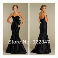 Free Shipping formal celebrity dresses Mermaid Floor Length 201211083161