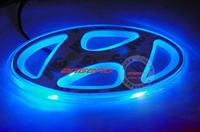 Free shipping Modern ELANTRA 9.4CM*4.5CM  PVC LED  Tail Lights / Car Emblem Light /  Car LED Logo Light
