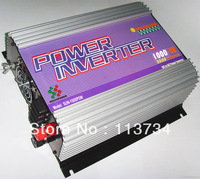 cheap 1000W Watt 12 24 48v dc to 110v 220v ac off grid pure sine wave power inverter wind and solar hybrid system