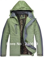 2013 men winter down  jacket Windproof  Waterproof Outdoors  Sports Jacket Thick Warm men's winter Jackets XXXL  ST5-2962
