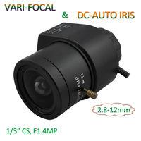 CS Mount, 2.8-12mm Auto Iris CCTV Camera Lens More Hottest!