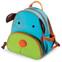 2014 high quality baby school backpacs canvas cartoon animal kid school packback primary school students child backpack bag