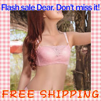 Free shipping The stomacher type Women's Bra Anti emptied Oil bag Bralette Push up Microthorax Bras